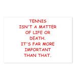 tennis Postcards (Package of 8)