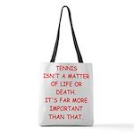 tennis Polyester Tote Bag