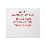 tennis Throw Blanket