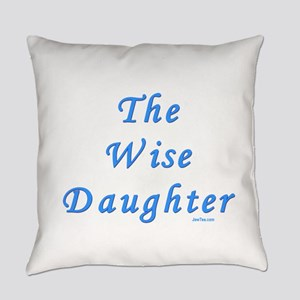 The Wise Daughter Everyday Pillow
