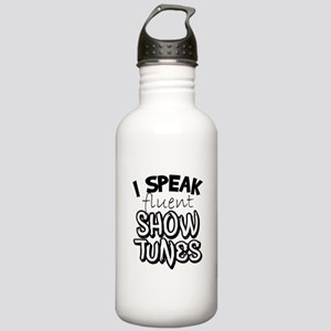 I Speak Fluent Show Tunes Water Bottle