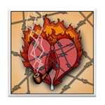 V-Heart of Heart Ignition Tile Coaster