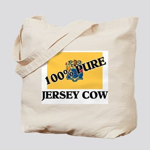 100 Percent Jersey Cow Tote Bag