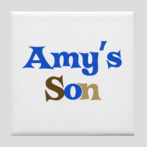 Amy's Son Tile Coaster