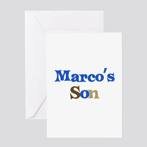 Marco's Son Greeting Card