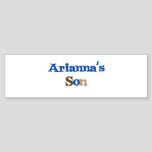 Arianna's Son Bumper Sticker