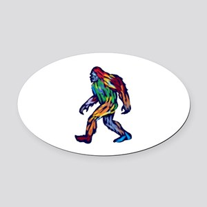 PROOF Oval Car Magnet