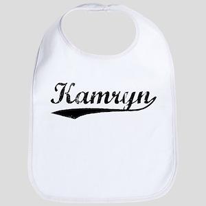 Vintage Kamryn (Black) Bib