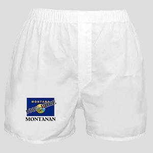 100 Percent Montanan Boxer Shorts