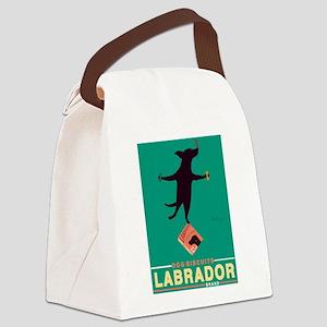 Labrador Brand - Black Lab Canvas Lunch Bag