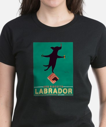 Labrador Brand - Black Lab Women's Dark T-Shirt