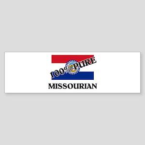100 Percent Missourian Bumper Sticker