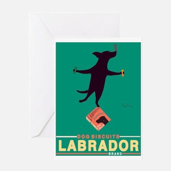 Labrador Brand - Black Lab Greeting Card