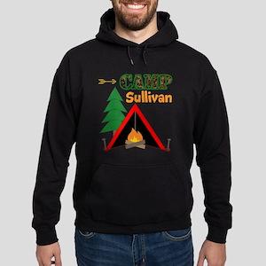 Tent Campfire Camping Name Sweatshirt