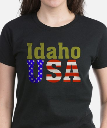 Idaho USA Women's Dark T-Shirt