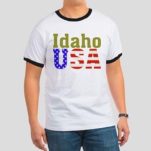 Idaho USA Ringer T