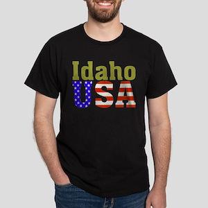 Idaho USA Dark T-Shirt