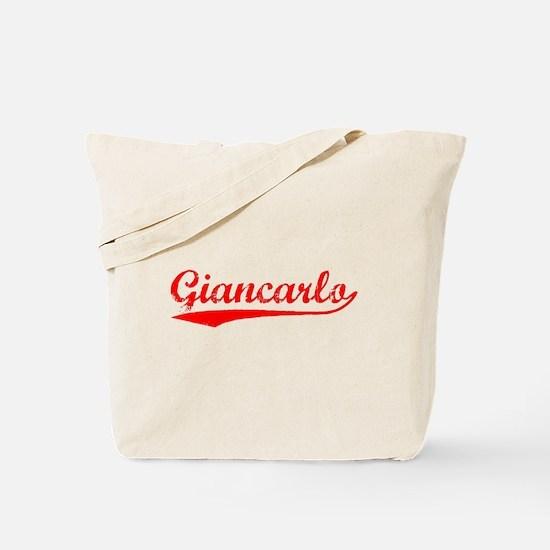 Vintage Giancarlo (Red) Tote Bag