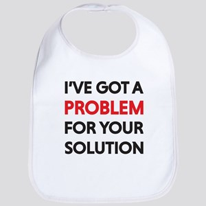 I've got a problem for your solution Baby Bib