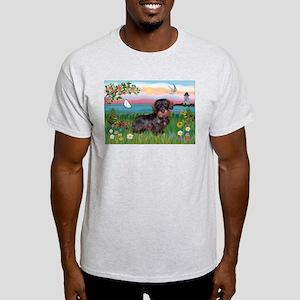 Lighthouse / Dachshund Light T-Shirt