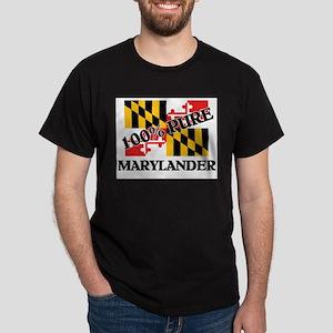 100 Percent Marylander Dark T-Shirt