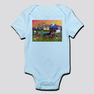 Fantasy / Wire Haired Dachshund Infant Bodysuit