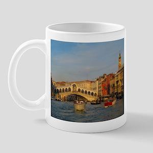 Venice Italy, Rialto Bridge photo- Mug