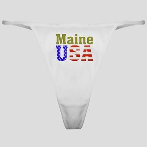 Maine USA Classic Thong