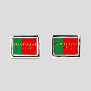 Portugal 1910 Rectangular Cufflinks