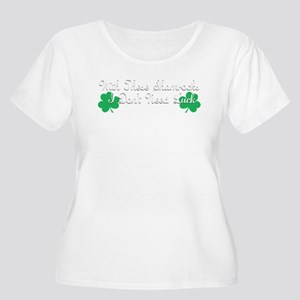 With These Shamrocks Plus Size T-Shirt