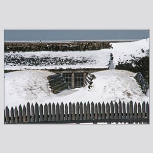 Old Fort Niagara Bunker Large Poster