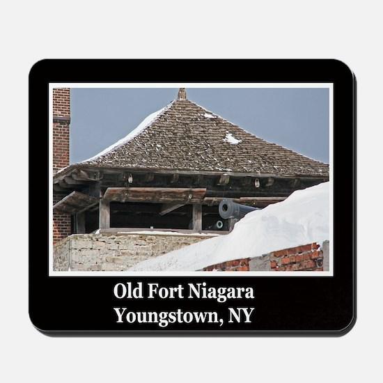 Old Fort Niagara Souvenirs Mousepad