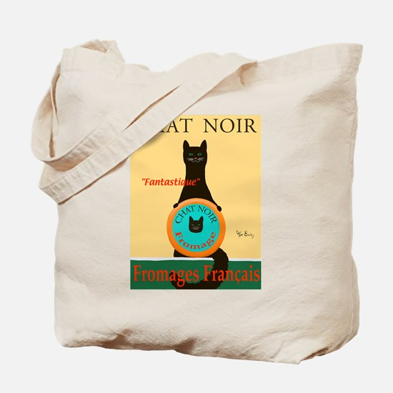 Chat Noir II (Black Cat) Tote Bag
