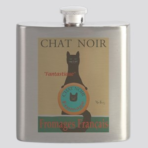 Chat Noir II (Black Cat) Flask