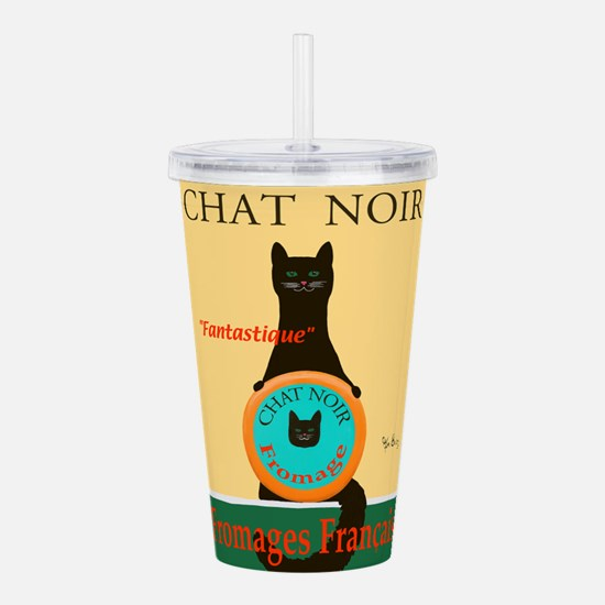 Chat Noir II (Black Ca Acrylic Double-wall Tumbler