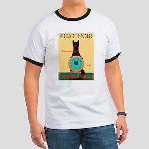 Chat Noir II (Black Cat) Ringer T