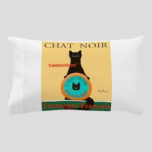 Chat Noir II (Black Cat) Pillow Case