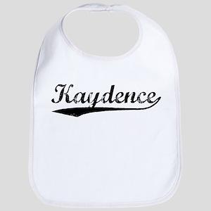 Vintage Kaydence (Black) Bib