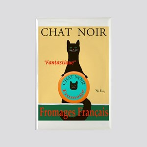 Chat Noir II (Black Cat) Rectangle Magnet