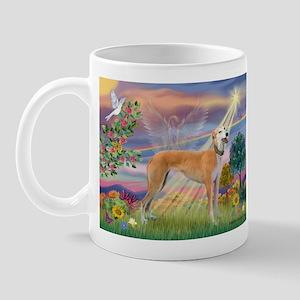 Cloud Angel & Greyound Mug