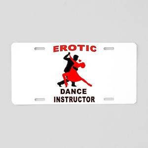 DANCERS Aluminum License Plate