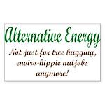 Alt Energy Rectangle Sticker 10 pk)
