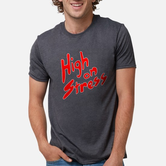 High on Stress Women's Dark T-Shirt