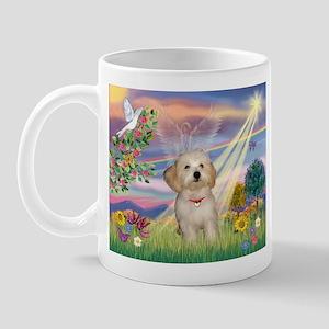 Cloud Angel /Havanese pup Mug