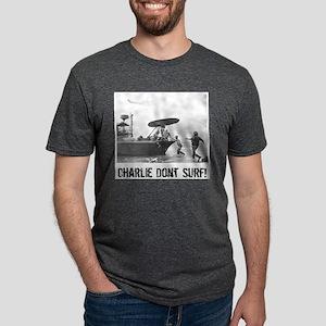 """Charlie Don't Surf"" Ash Grey T-Shirt"