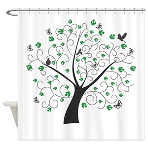 Tree Life Shower Curtains