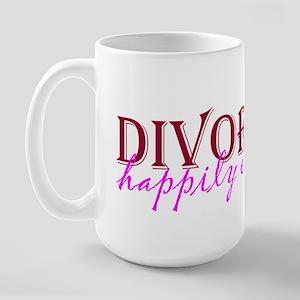 Divorced Large Mug