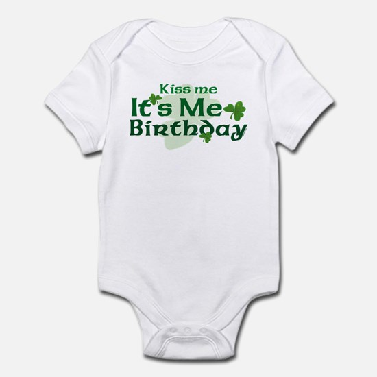 Kiss Me Irish Birthday Infant Bodysuit