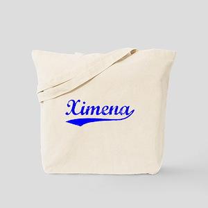 Vintage Ximena (Blue) Tote Bag