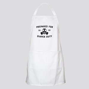 Prepared For Diaper Duty Light Apron